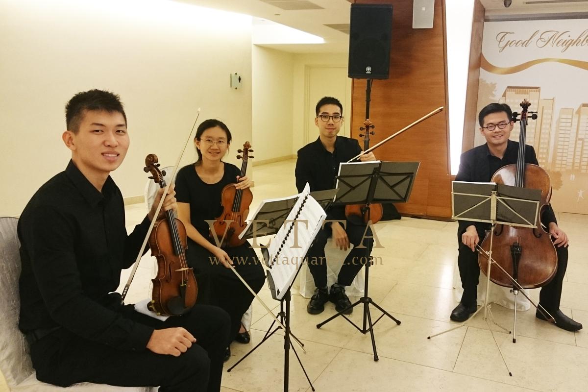 String Quartet for Good Neighbour Awards at HDB Hub