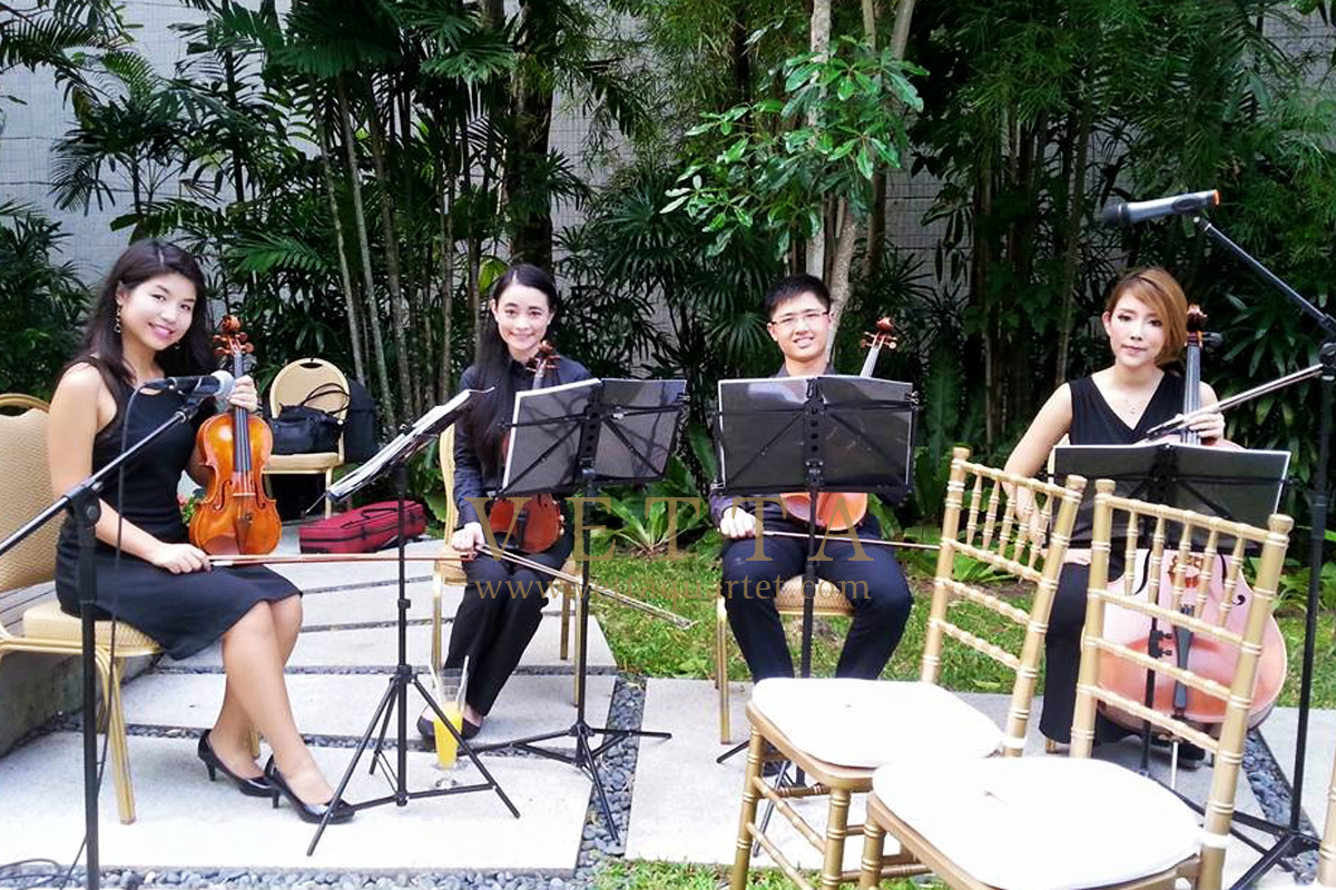 Live Music for Solemnisation at Grand Hyatt
