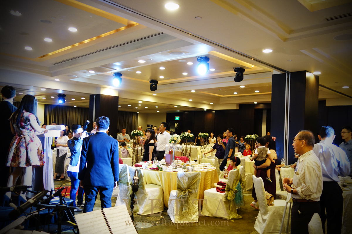Live Music for Wedding Dinner at Grand Copthorne Waterfront Hotel