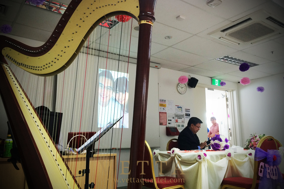 Harp for Wedding Solemnisation