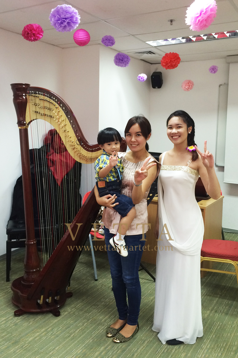 Harp for Wedding Solemnisation at MDIS