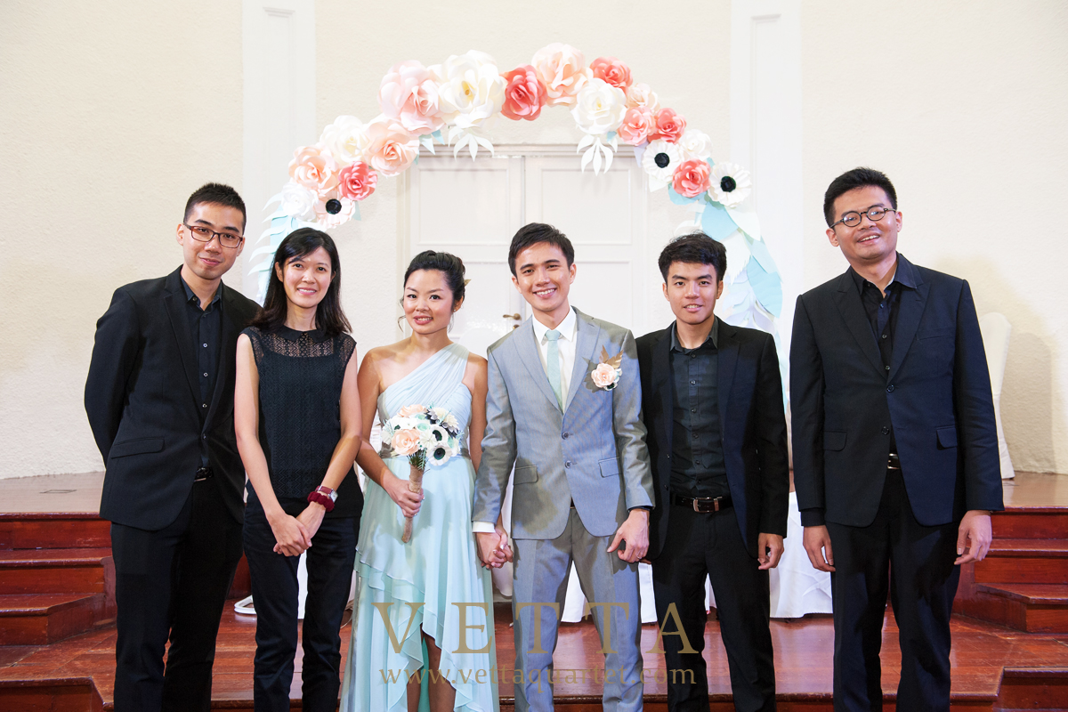 Wedding Solemnisation at Arts House Singapore