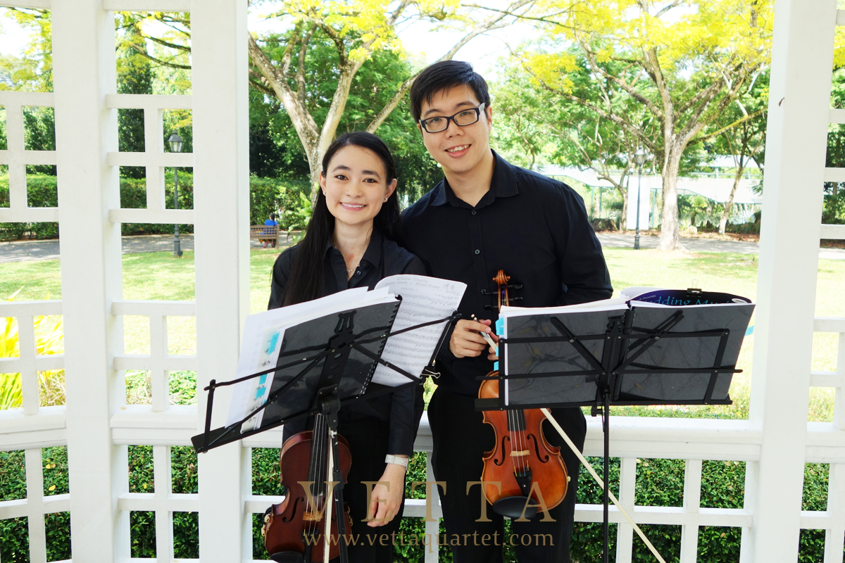 singapore violin for weddings