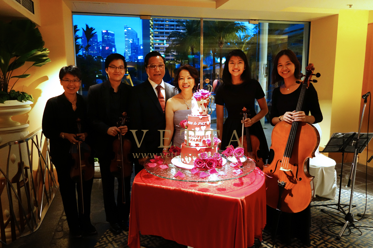 Wedding Anniversary Celebration Entertainment SIngapore