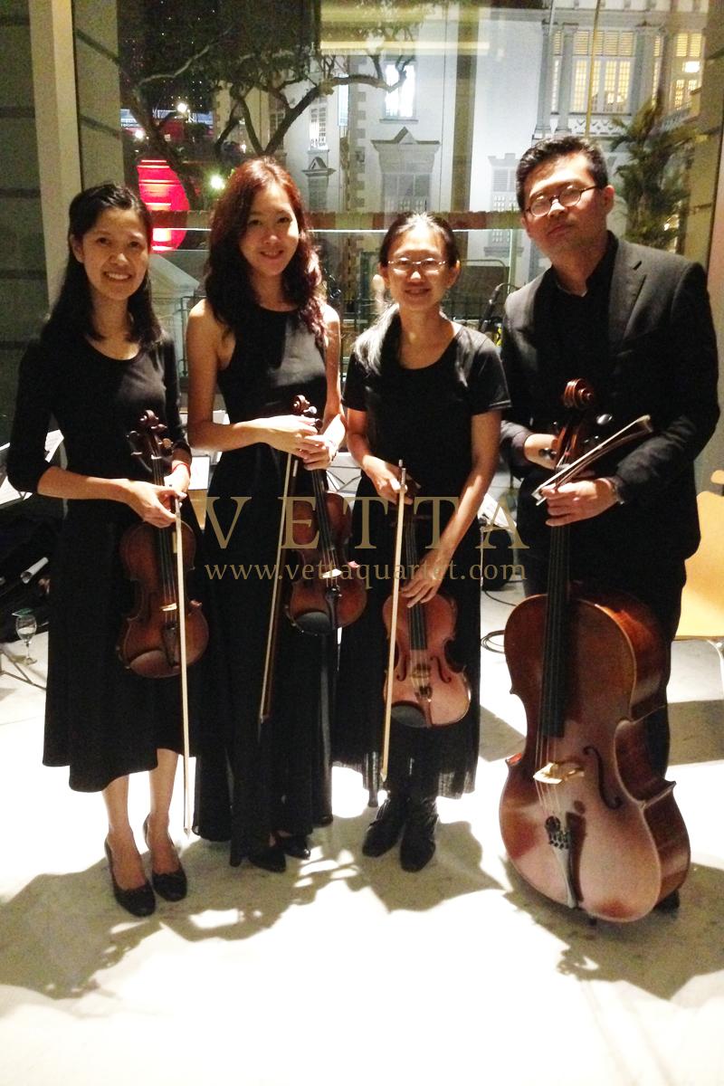 String Quartet Live Music Entertainment