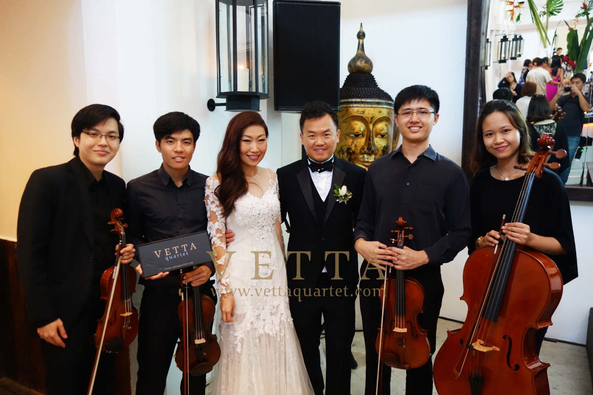 Wedding Solemnisation Ceremony Wee Lee's Wedding at Tamarind Hill
