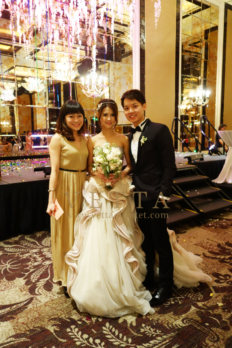 Singapore Wedding at St Regis - John Jacob Ballroom