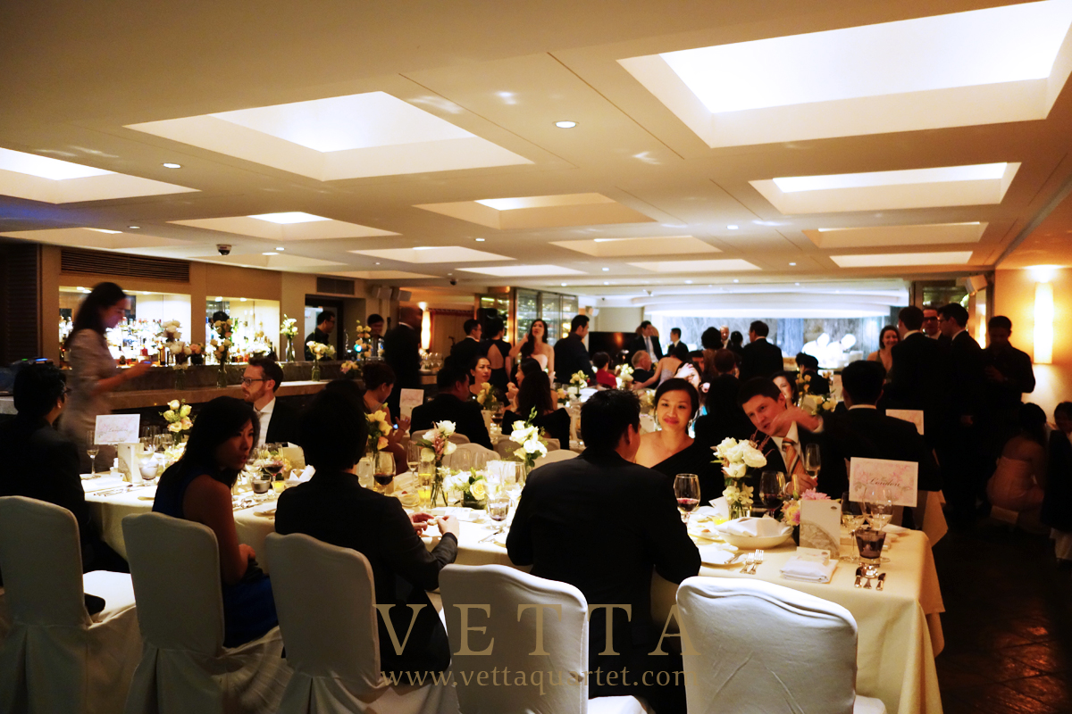Singapore Wedding at Mandarin Oriental - Dolce Vita Restaurant