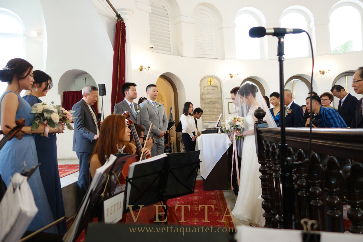 Wedding at Armenian Church