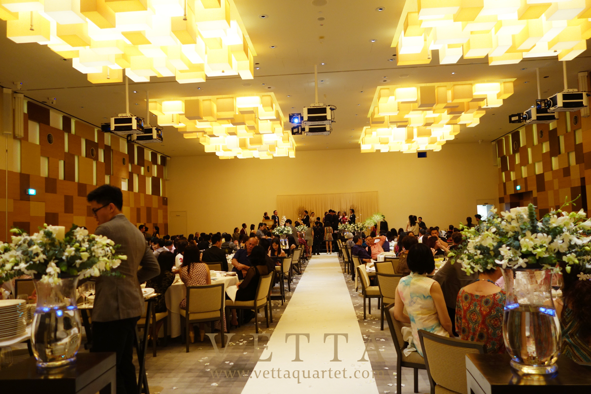 Singapore Wedding at Grand Hyatt Singapore, Grand Ballroom