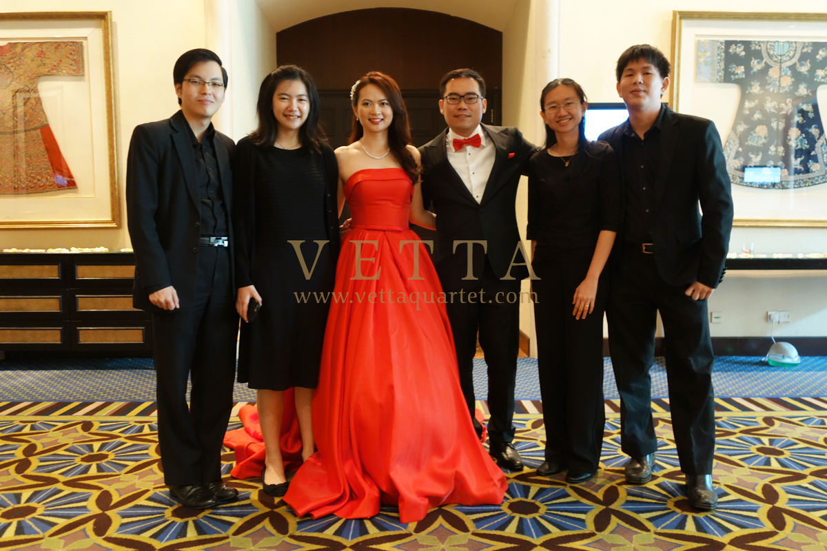 Singapore Wedding at Swissotel Merchant Court