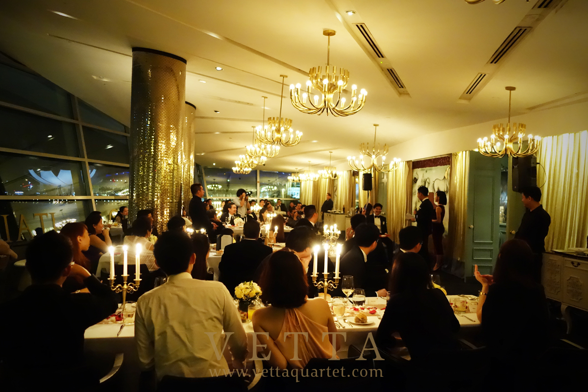 Singapore Wedding at Forlino, One Fullerton