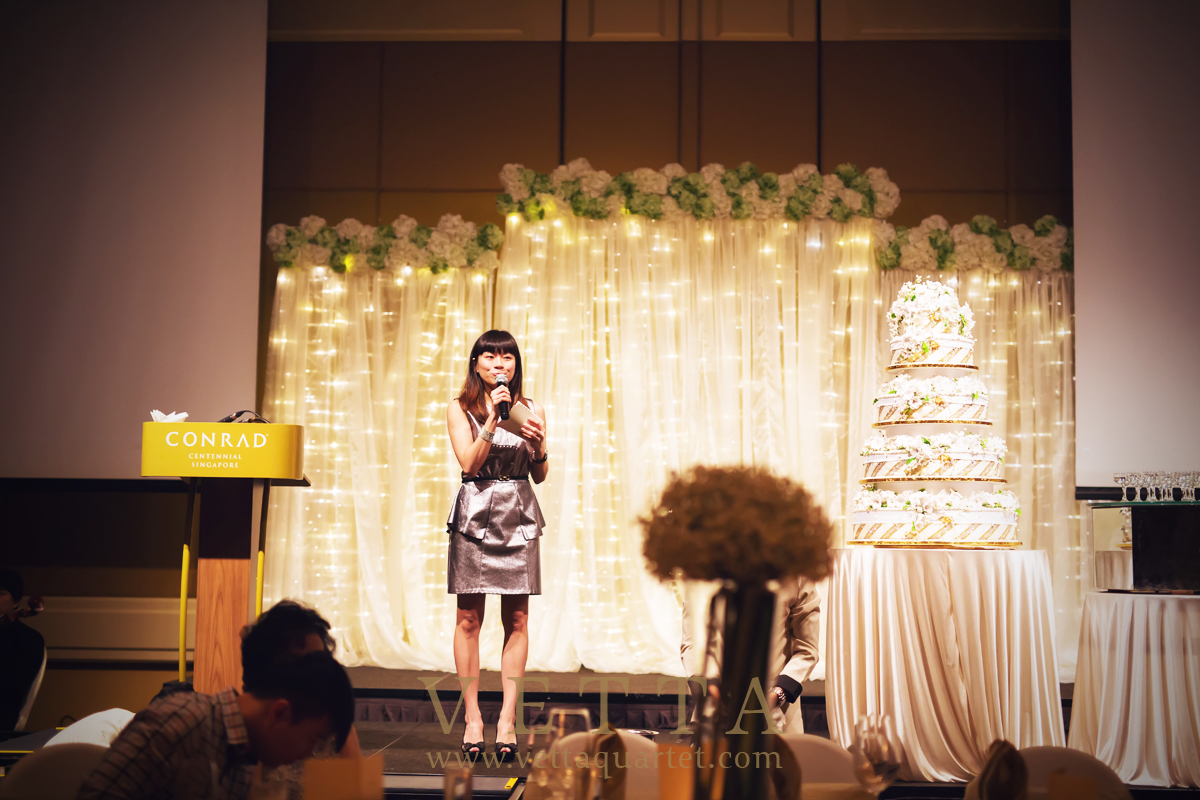 Regine Emcee Wedding Singapore