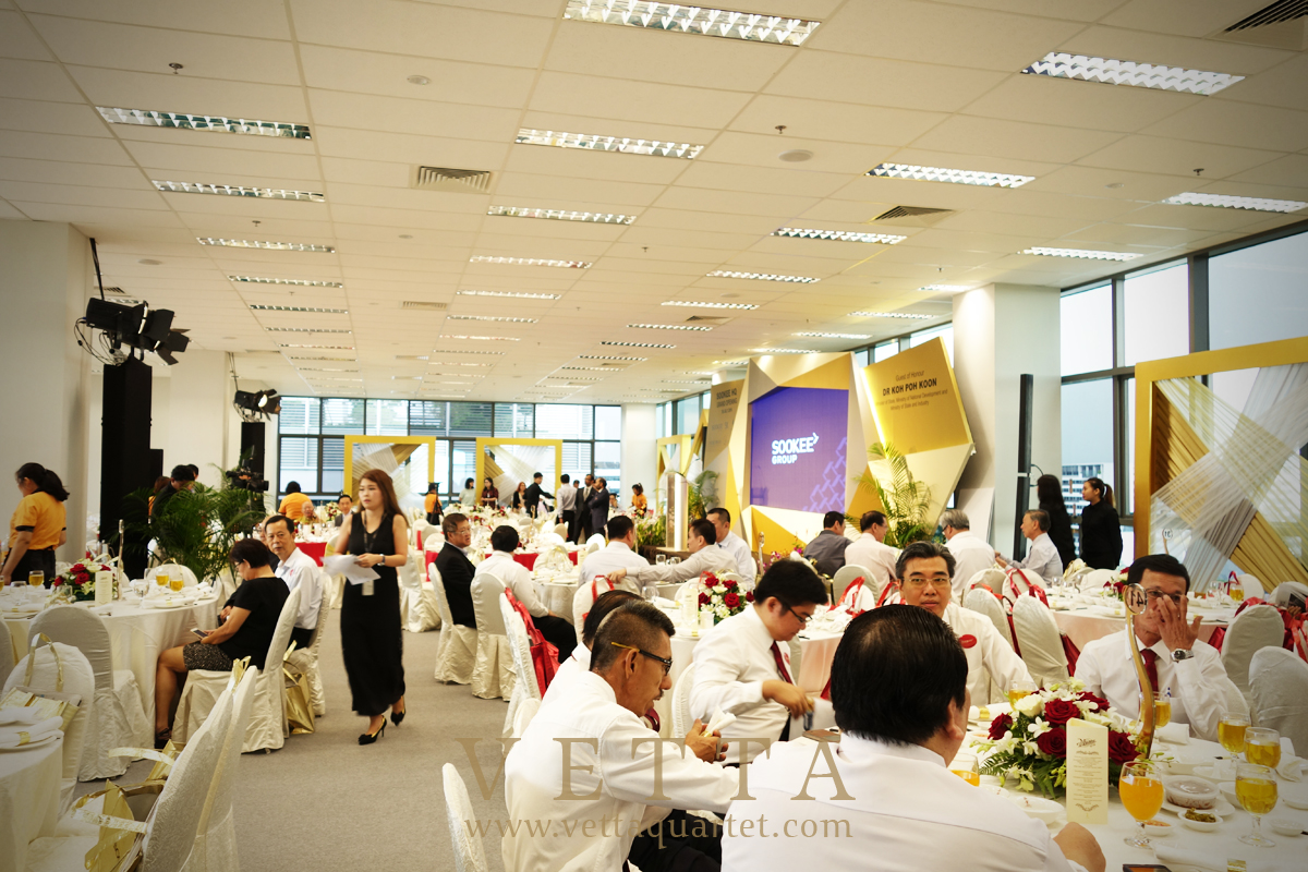 Soo Kee HQ Grand Opening at Changi Business Park