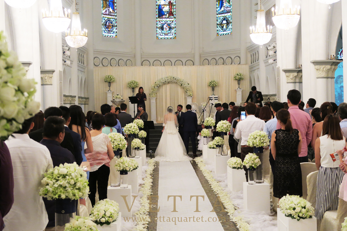 String Orchestra for Wedding at CHIJMES