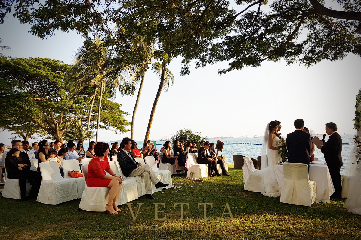 Wedding at Shangri-La Rasa Sentosa