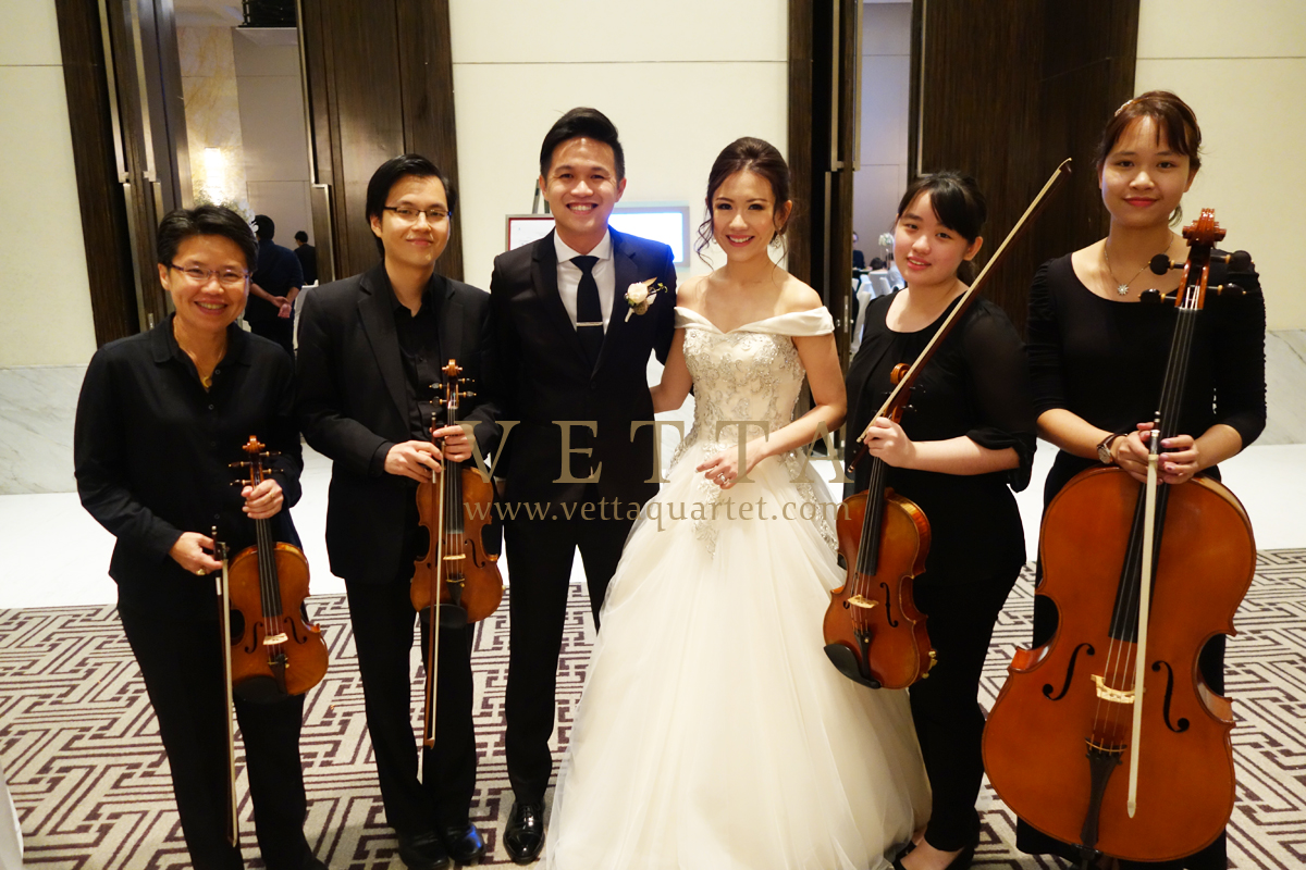 Wedding at The Westin Singapore