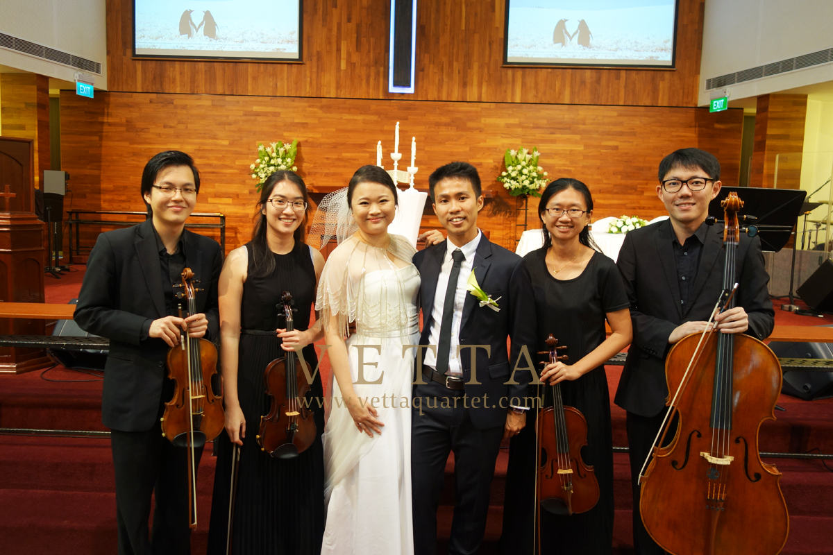 Wedding at Toa Payoh Methodist Church