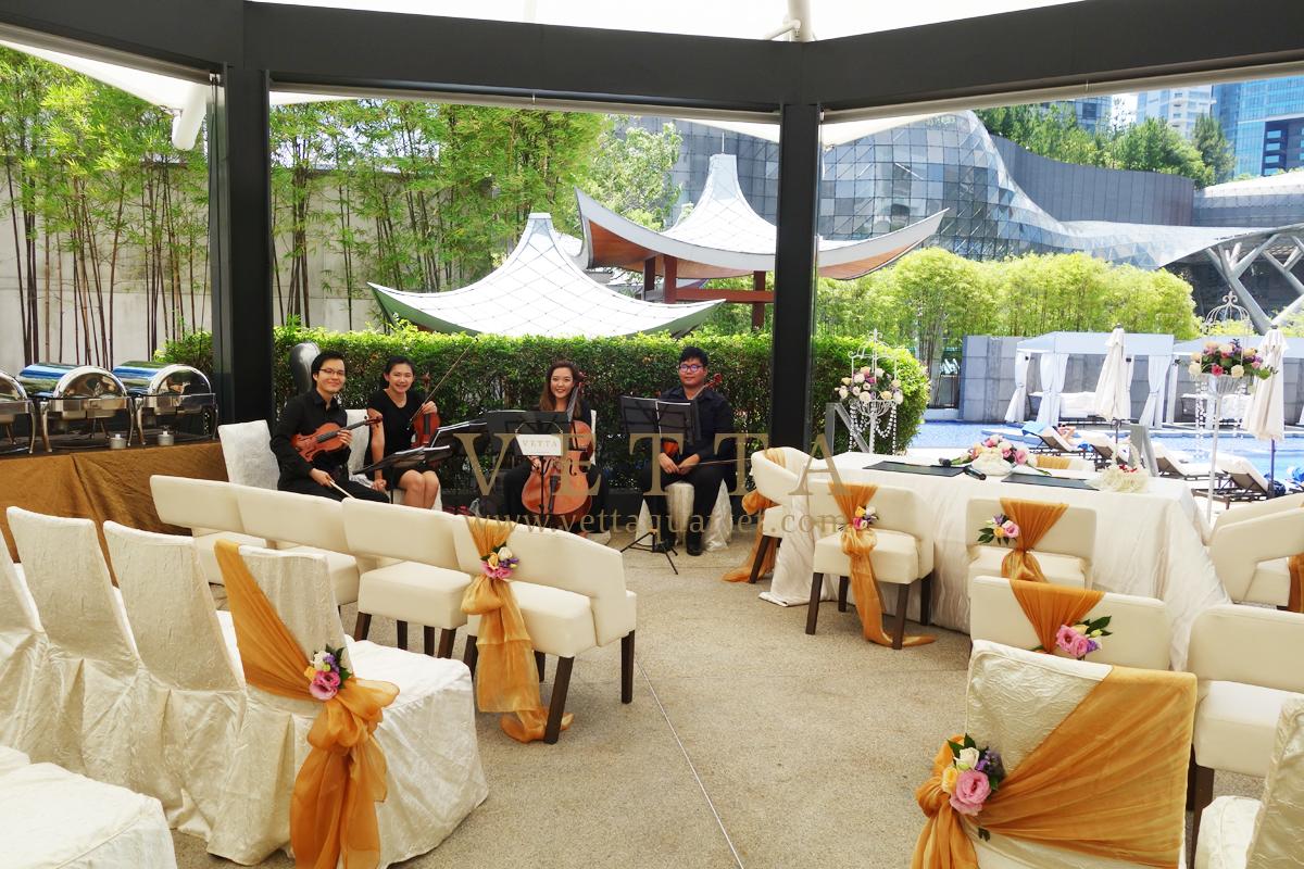 Wedding at Marriott Hotel