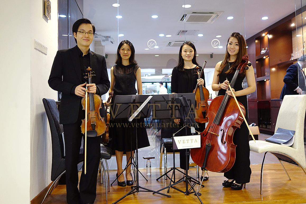 String Quartet for Dinner Event at Snorre Food