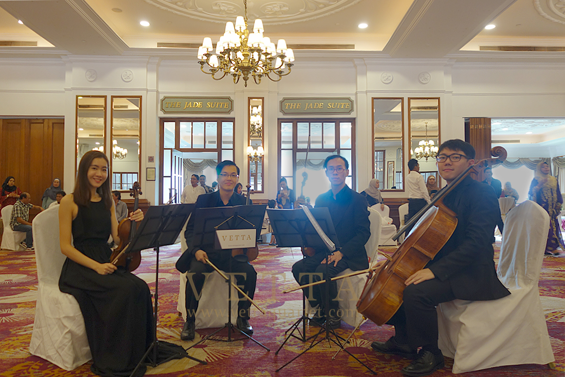 String Quartet for Wedding at Orchid Country Club