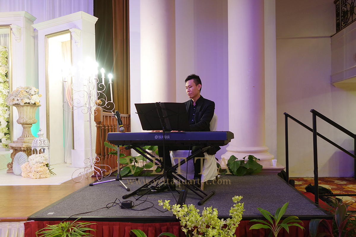 Solo Pianist for Wedding at Orchid Country Club