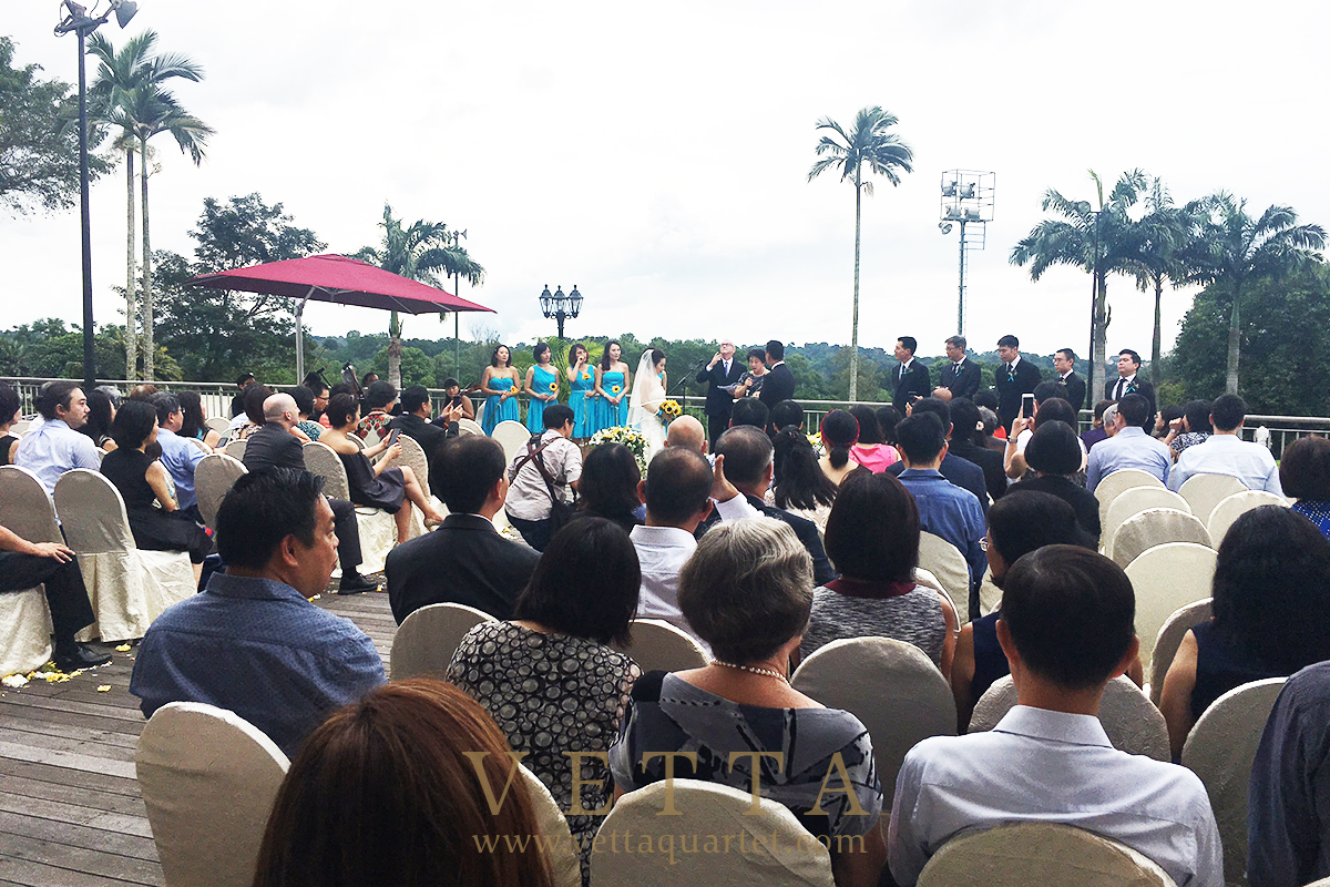 String Quartet at Singapore Island Country Club