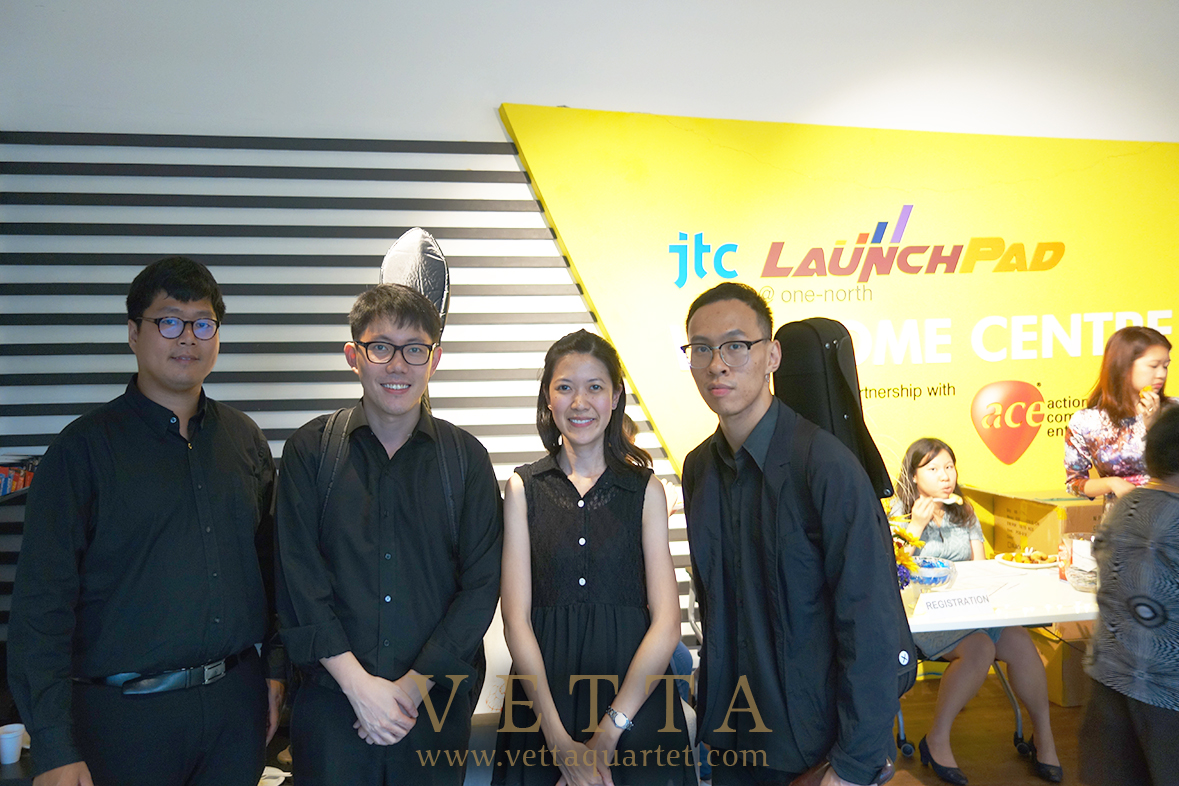VETTA string quartet for Ace Ideation Centre