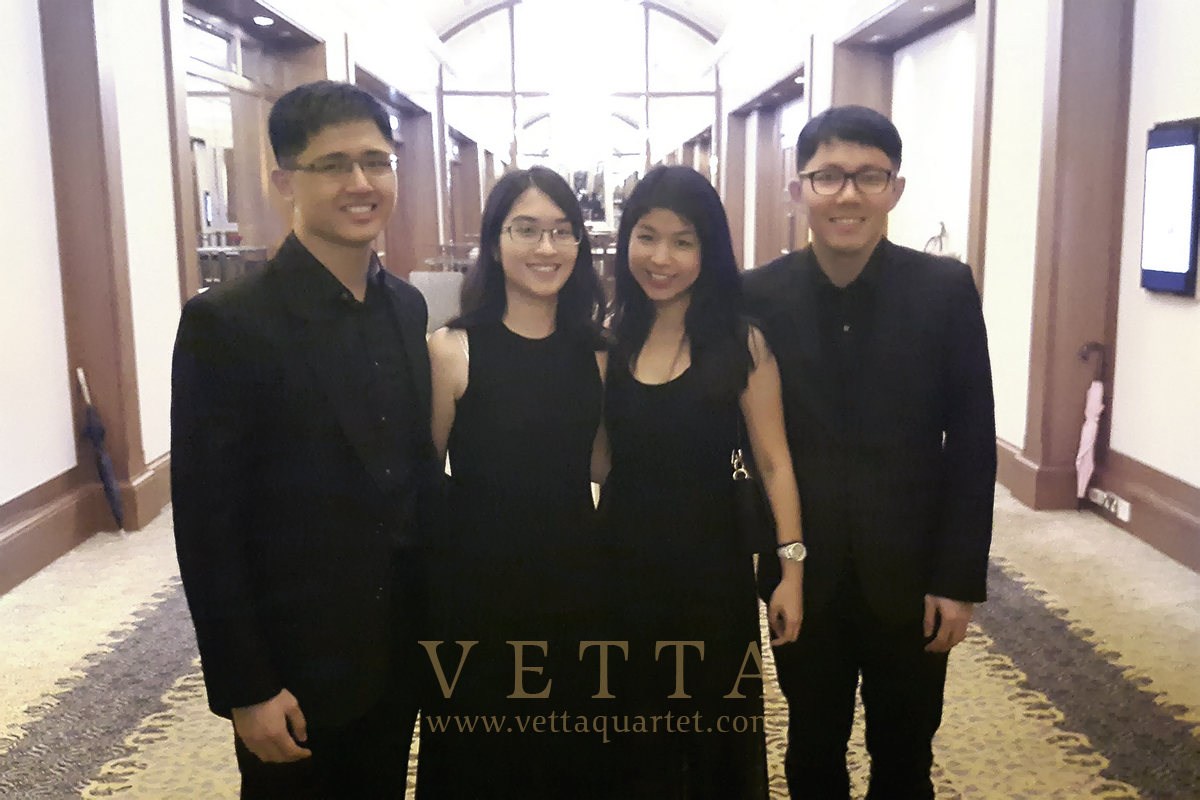 String Musicians for Wedding at Four Seasons Hotel
