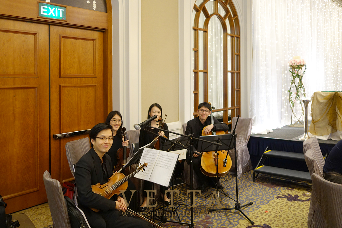 String Quartet for Wedding at Four Seasons Hotel