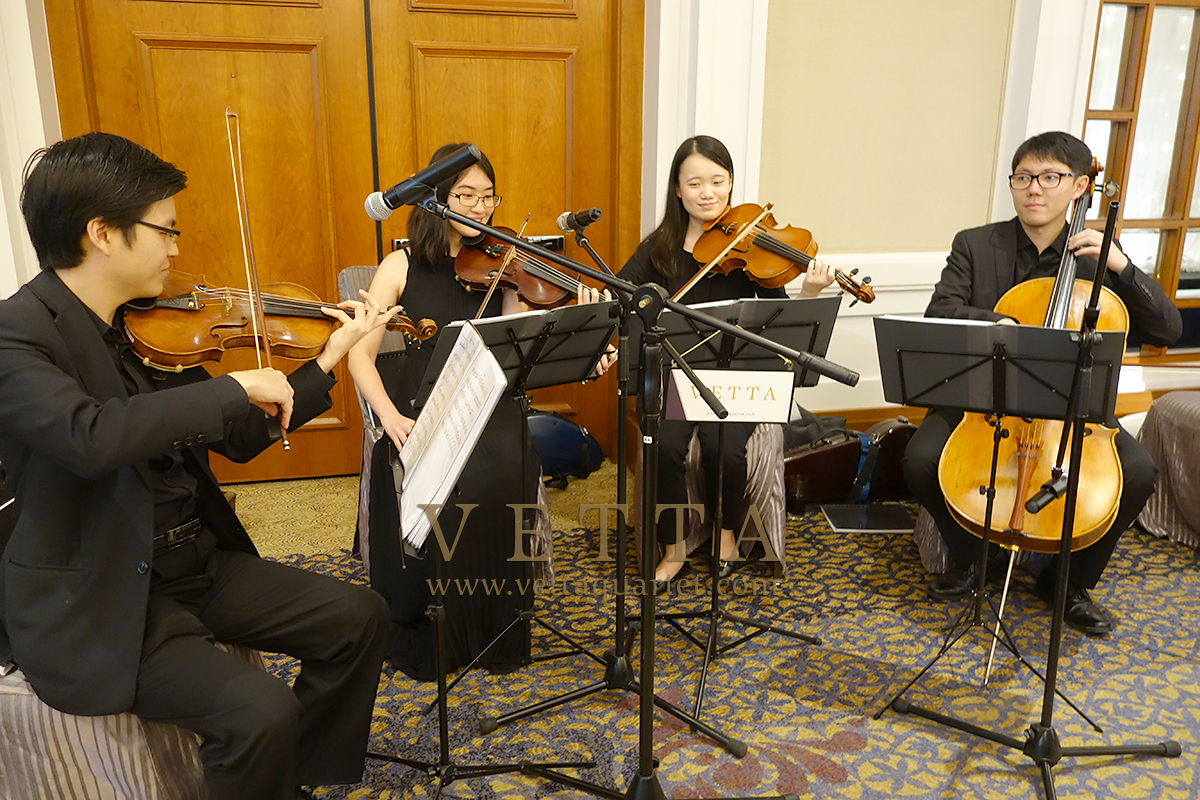 Live String Music for Wedding at Four Seasons Hotel