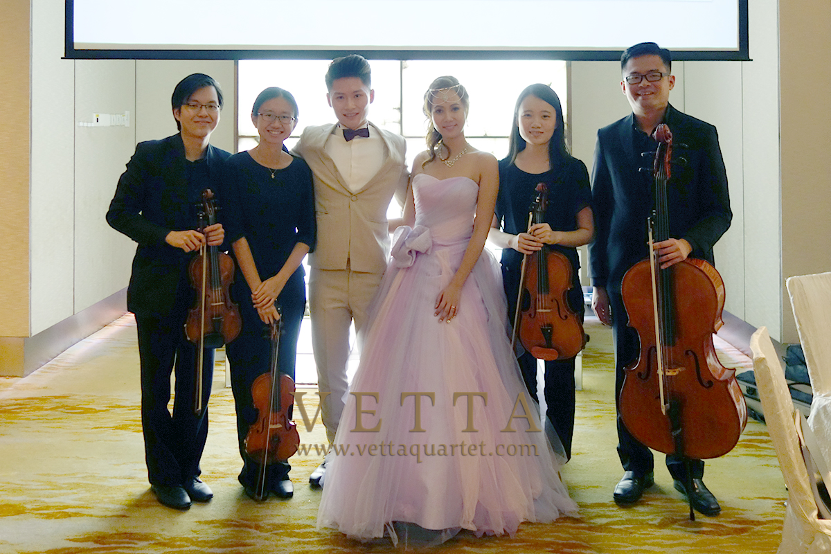 String Quartet for Wedding at Marriott Singapore Tang Plaza
