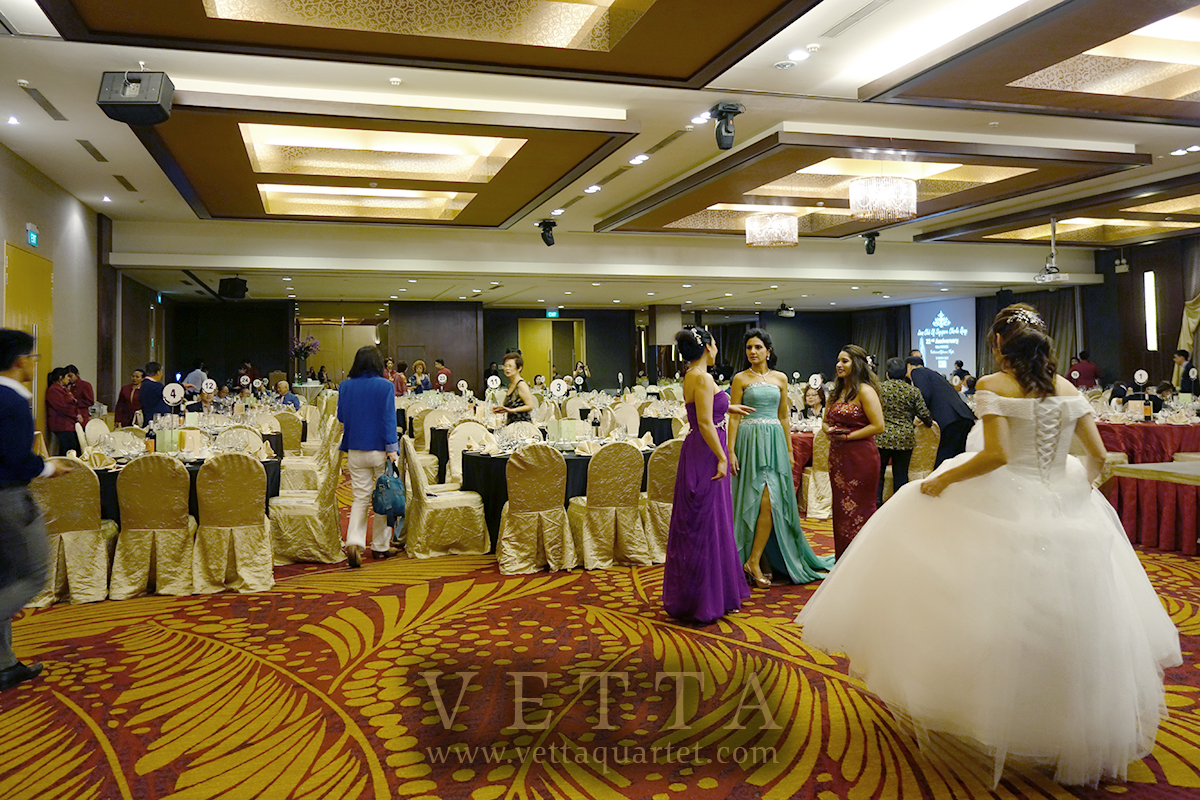Live String Music for Gala Dinner at Serangoon Country Club