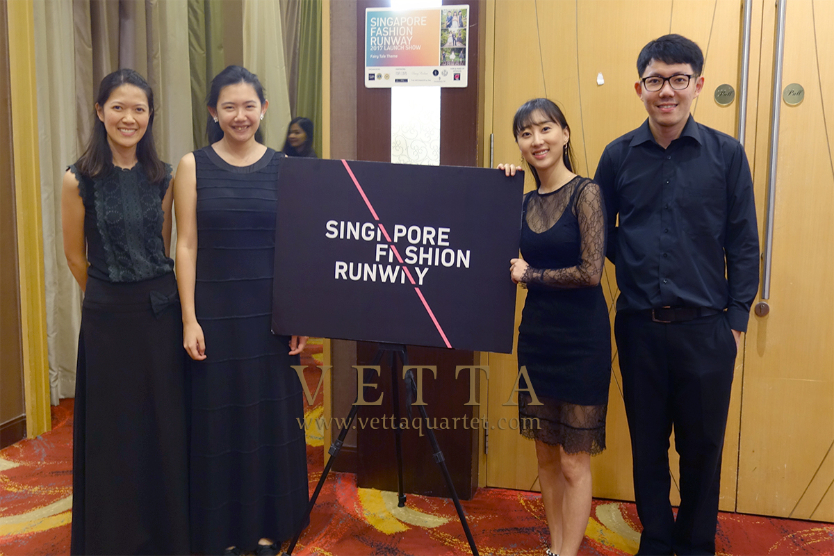 String Musicians at Gala Dinner at Serangoon Country Club