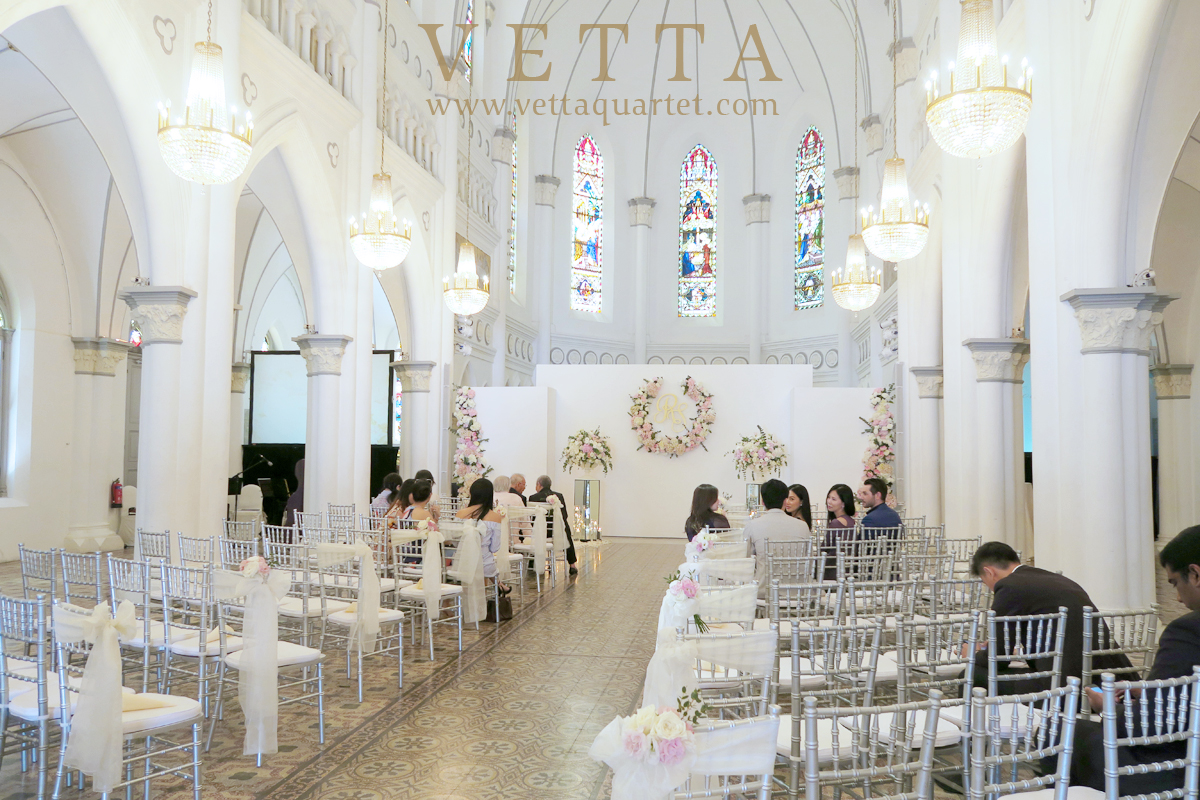 Live String Sextet for Wedding at CHIJMES