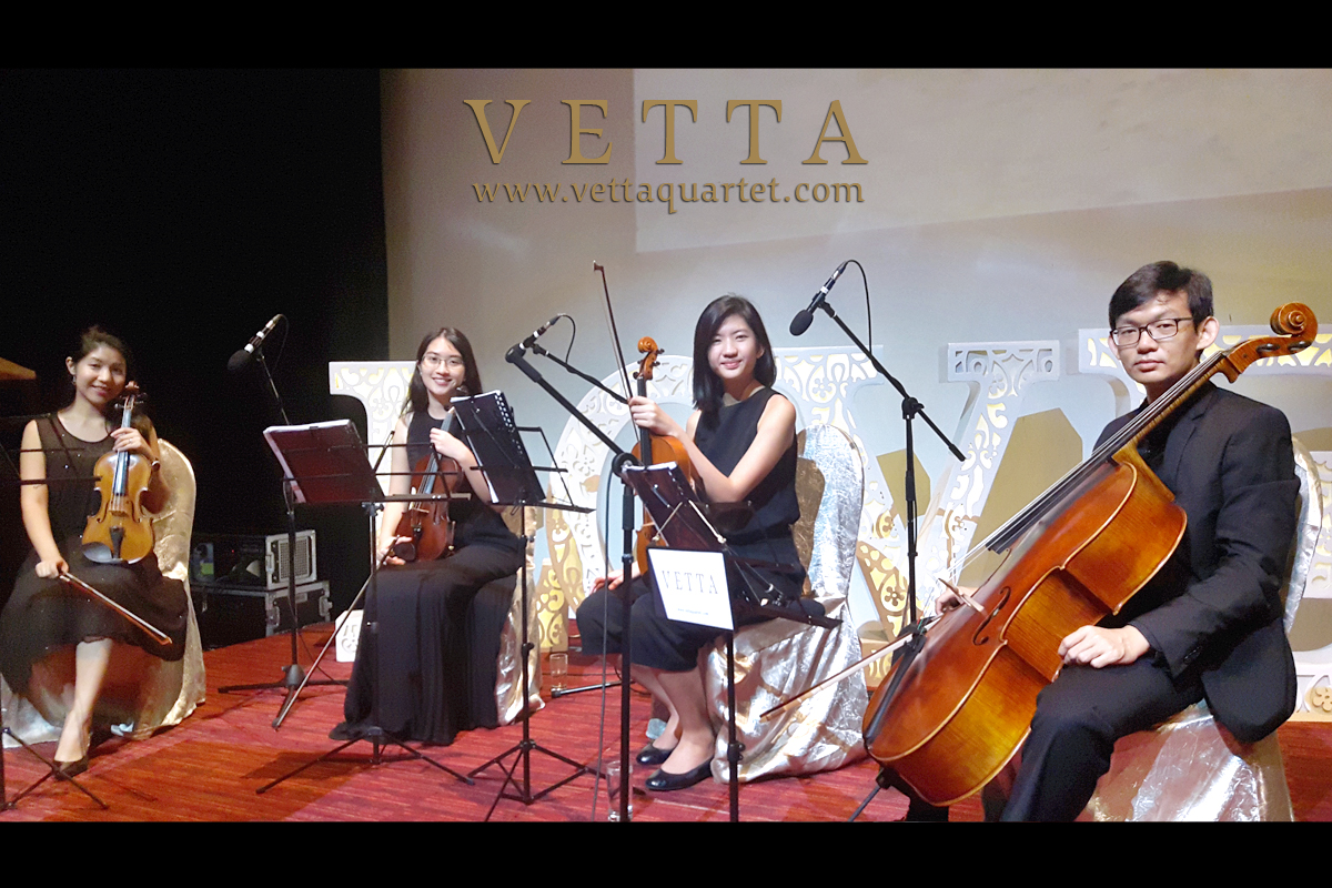 Live String Musicians for Wedding at Joyden Hall, Bugis plus