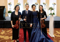 Violin Duo for Wedding dinner at Marina Bay Sands