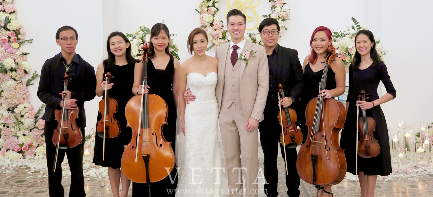 String Sextet for wedding solemnisation at CHIJMES