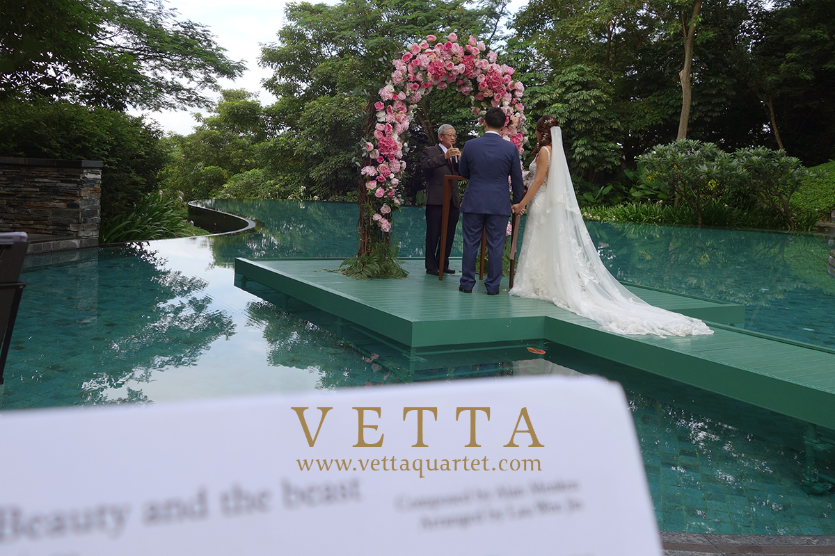 String Music for Solemnization at Capella poolside