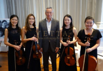 ESTA Quartet for Book Launch of First Lady of Singapore at Arts House