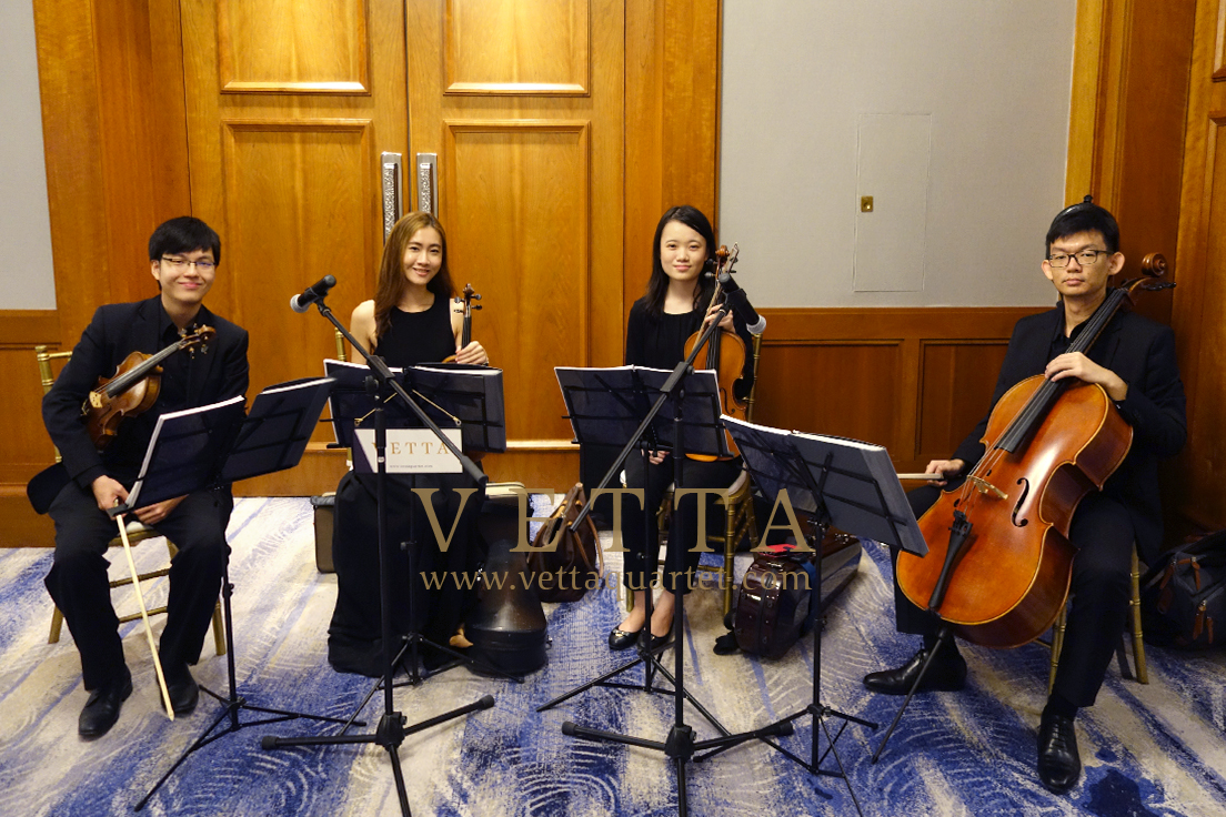 Live String music for Wedding at Four Seasons