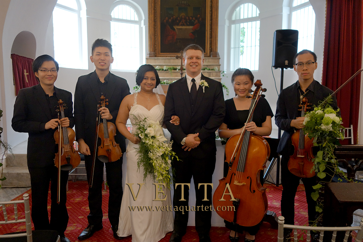 String Musicians for For Holy Matrimony at The Armenian Church