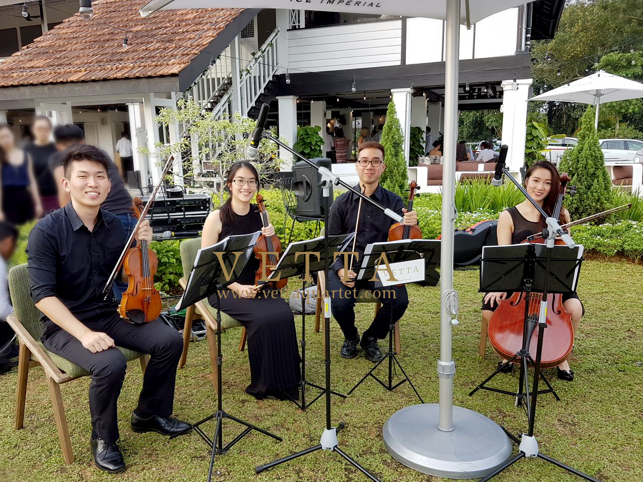 String Quartet for Su-Lin and Najib Wedding at The Summerhouse